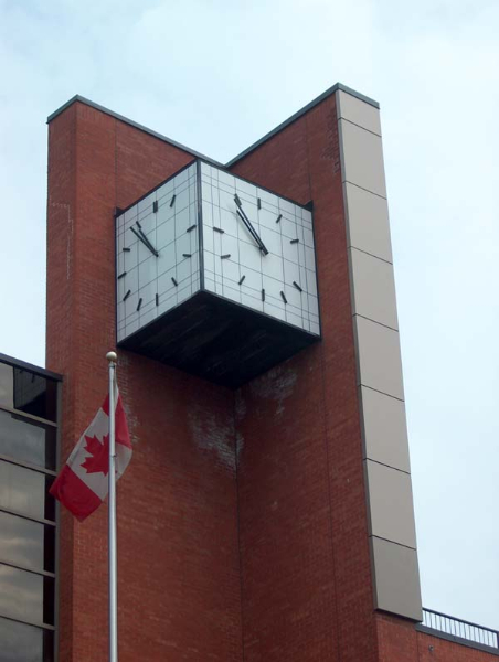 Clarence Street tower clock