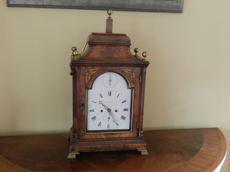British bracket clock