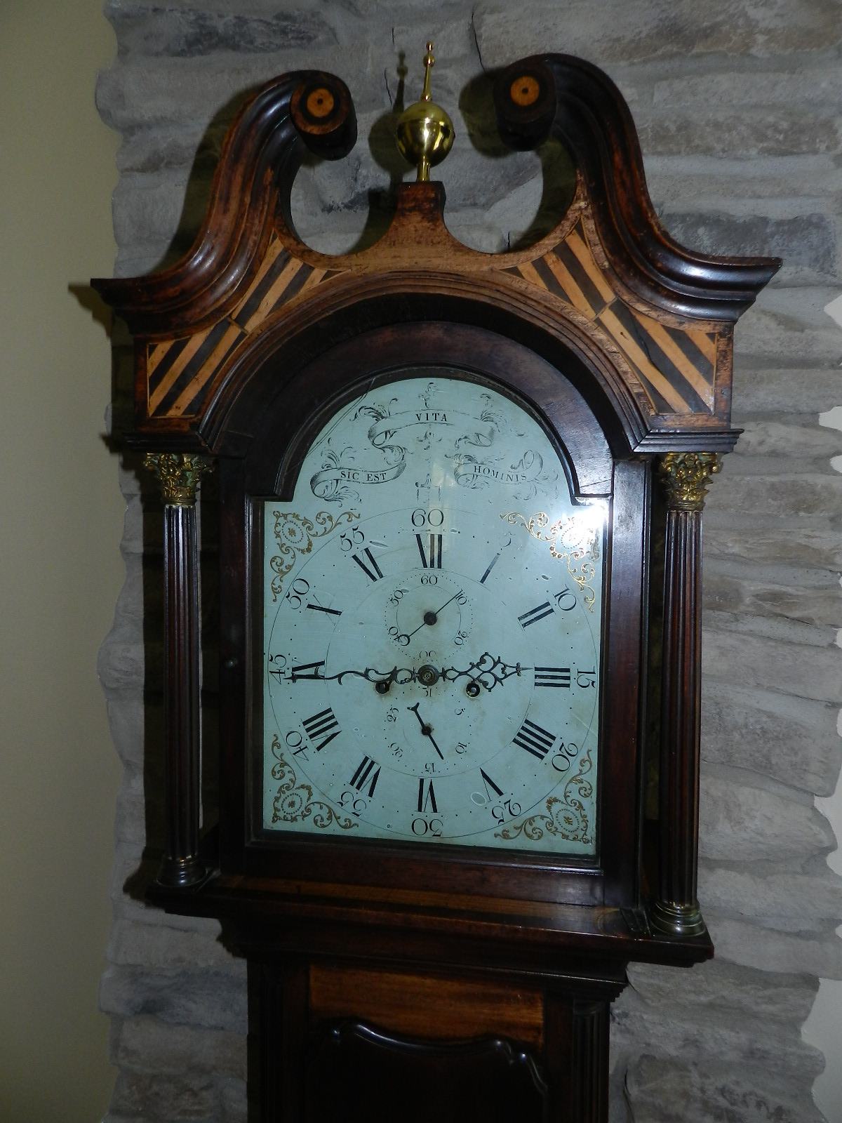 Late 1700 British tall clock