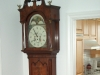 1840 British tall case clock